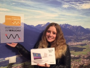 Gewinnerin Hanna Tangl