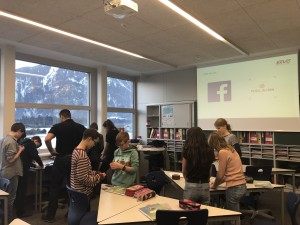 Beschichtungen kennen lernen mit der Collini GmbH beim Firmentag an der Musikmittelschule Thüringen
