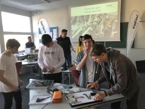 Oberflächentechnik praktisch erleben mit Collini an der Mittelschule Thüringen