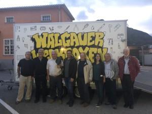 Handwerks-Füchse bei den Walgauer Werkboxen