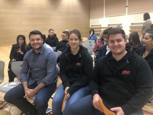 Die Lehre im Walgau mit der Firma ERVO beim Elternabend in Bludenz