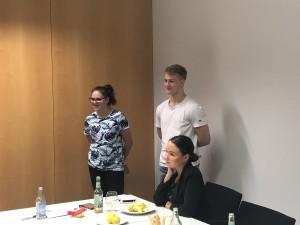 Lehrlingsmesse 2019: Coaching für das Moderations-Team mit Heike Montiperle