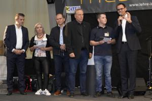 "Lehrlingsmesse 2018 der ""Lehre im Walgau"" - Moderation mit Lehrlingen"