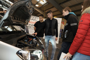 Autohaus Rudi Lins Lehrlingsmesse 2019 Lehre im Walgau