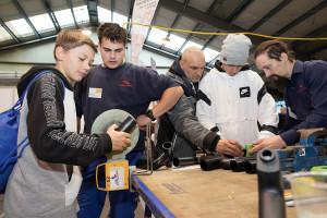 Dorfinstallateur Lehrlingsmesse 2019 Lehre im Walgau