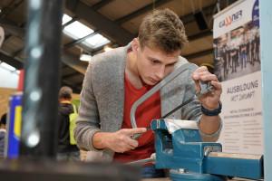 Gassner Stahlbau Lehrlingsmesse 2019 Lehre im Walgau