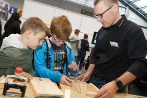 Hartmann Fensterbau Lehrlingsmesse 2019 Lehre im Walgau