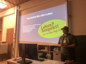 BO Elternabend in Frastanz mit Lehre im Walgau und Reisch Maschinenbau