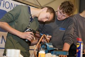 Küng Installationen Lehrlingsmesse 2019 Lehre im Walgau