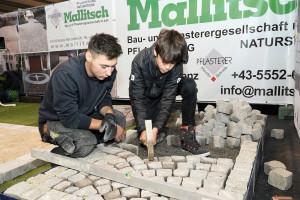 Mallitsch Pflasterer Lehrlingsmesse 2019 Lehre im Walgau
