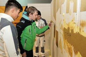 Lehrlingsmesse 2019 Lehre im Walgau Preite Verputz und Trockenbau