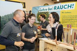 Rauch Fruchtsäfte Lehrlingsmesse 2019 Lehre im Walgau