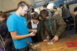 Reisch Maschinenbau Lehrlingsmesse 2019 Lehre im Walgau