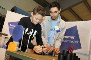 Summer Installationstechnik Lehrlingsmesse 2019 Lehre im Walgau
