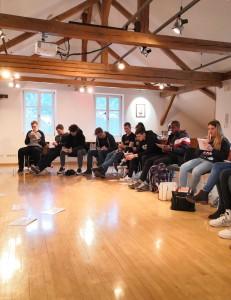 Lehrlingskurs mit Bertram Strolz und Lehre im Walgau