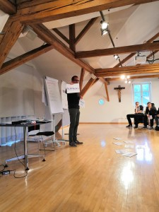 Lehrlingskurs mit Bertram Strolz und der Lehre im Walgau