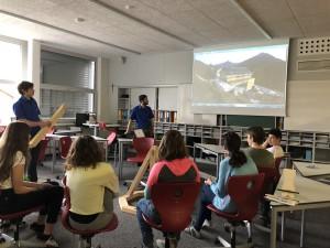 Firmentag Lehre im Walgau Thüringen mit der Zimmerei Heiseler