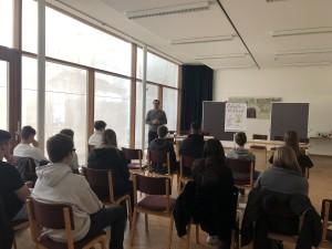 """Workshop mit """"aha Jugendinfo"""" und Lehre im Walgau"""